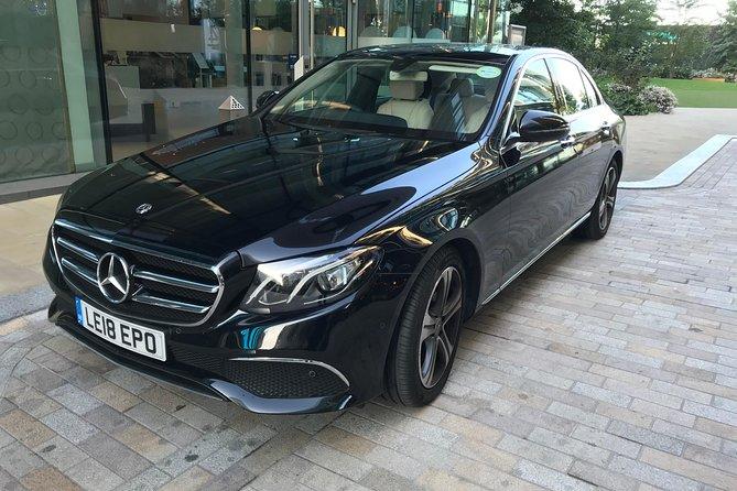 Private Chauffeur Transfer Southampton To London In A Luxury Sedan
