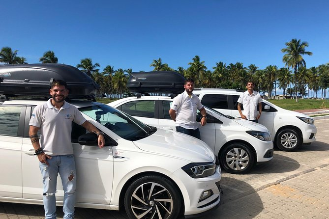 Arrival Transfer from Airport of Recife to Maragogi Hotels