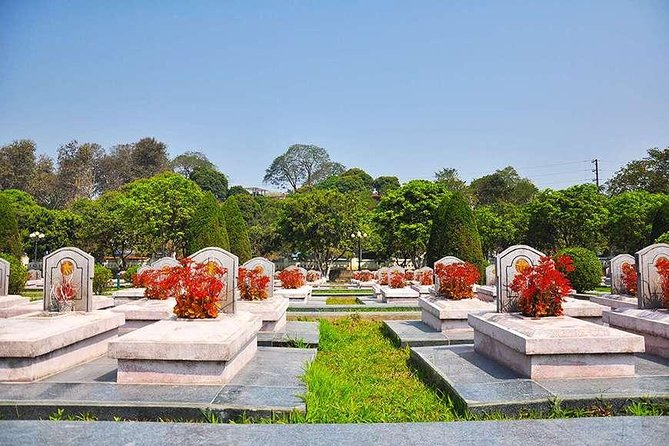 martyrs' cemetery in Dien Bien Phu