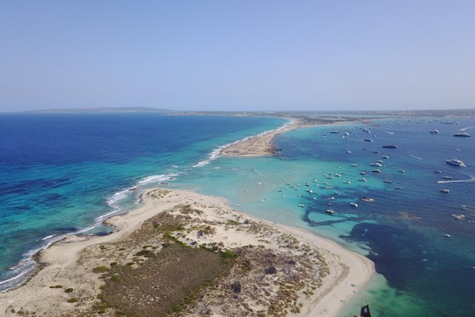 Day cruise to Formentera from Ibiza on a private catamaran!