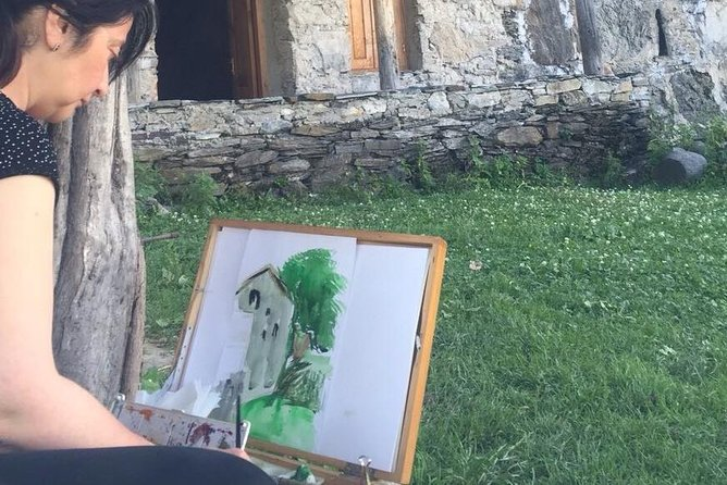 Just Paint with Travel & Paint - Art Workshops for Creative People.