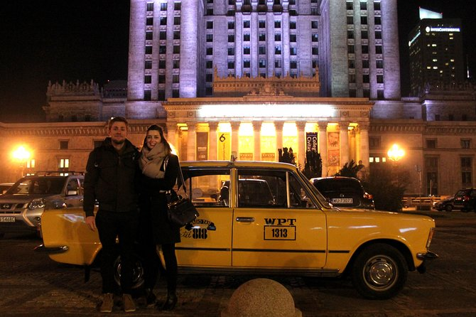 Warsaw Evening Private Tour by Retro Fiat