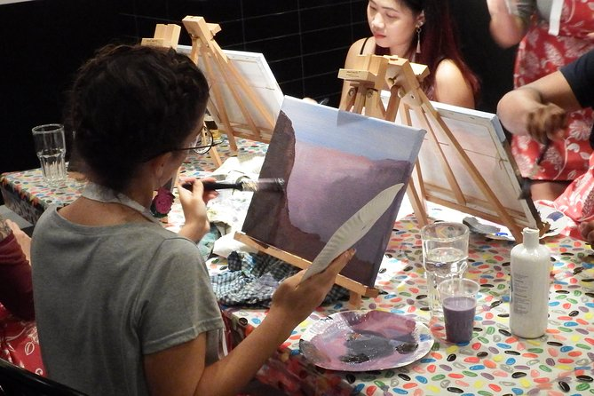 Tuesday 2 for 1 Paint and Sip Art Sessions