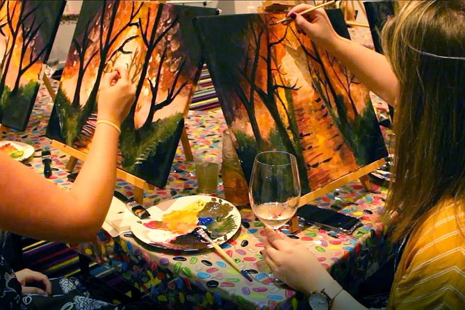 Friday Night 2 for 1 Paint and Sip Art Sessions
