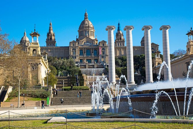 Private Montjuic Mountain Tour with Visit to Olympic Park and Plaza España