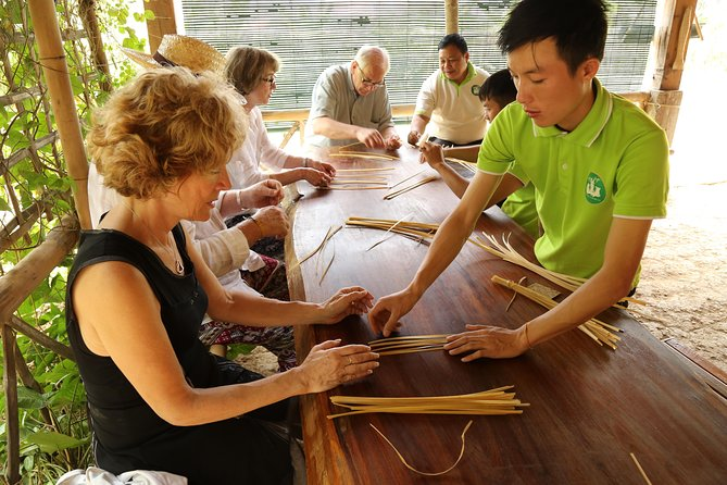 Day-time Bamboo weaving & Cooking Classes join-in
