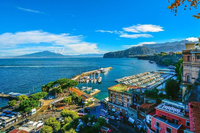 Sorrento Day-Trip from Naples with 3-Course Lunch