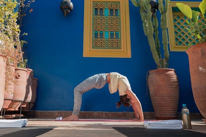 Sunrise yoga package at La Maison Arabe