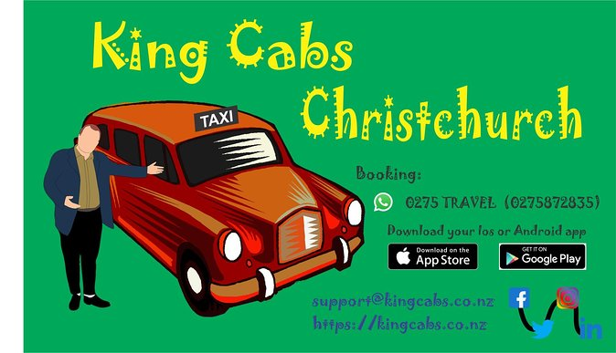 Christchurch Airport to City Hotels - Lowest Price Guarantee 1 to 4 Pax & 2 Bags