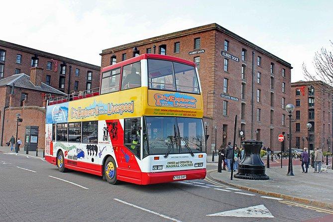 Ingresso combinado de Liverpool: cruzeiro fluvial, pontos de ônibus pela cidade e excursão à torre da Catedral