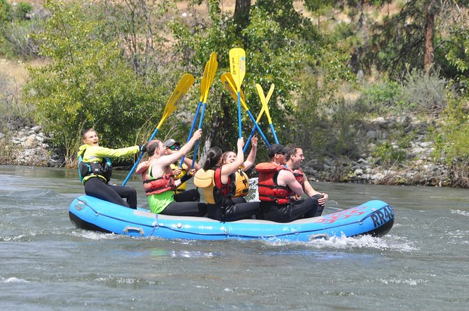Whitewater and Wine: Wenatchee River Whitewater Rafting and Winery Tour