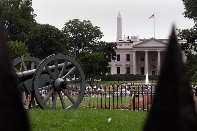 Capitol Hill and DC Monuments Tour by Electric Cart