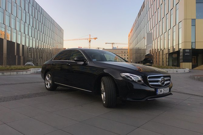 All Day VIP transport in Warsaw - Mercedes E-Class with private driver photo 1