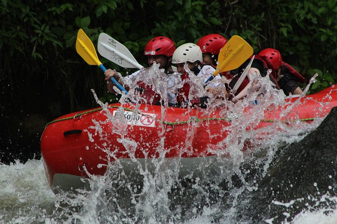 San Jose to La Fortuna Arenal Whitewater Rafting on the Balsa River Class 2-3
