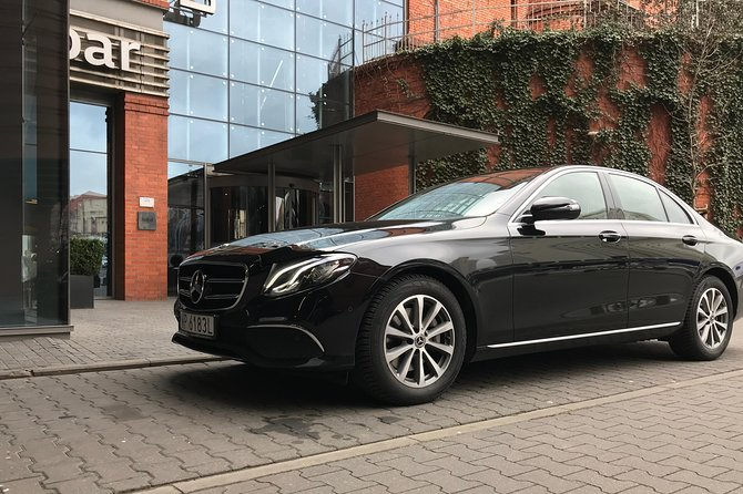 VIP transfer from Warsaw to Krakow - Mercedes E-Class with private driver