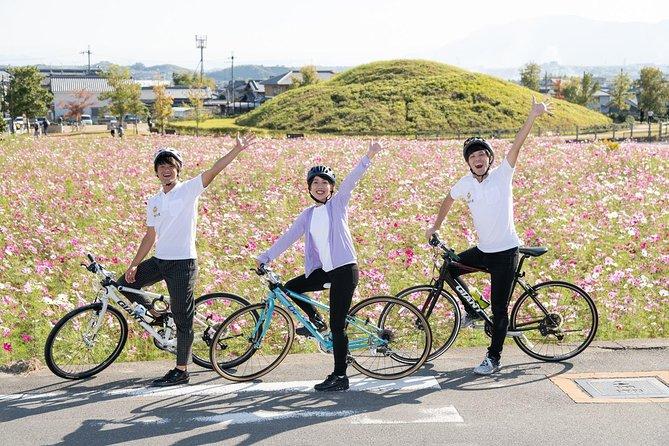 [Nara / Ikaruga] World heritage tour by bicycle! Full day rental plan ♪ Cross bike / Electric bicycle