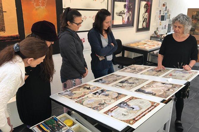 Art tour through artists' workshops around San Miguel de Allende