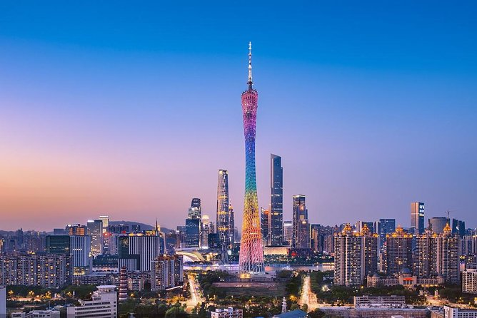Guangzhou Pearl River Night Cruise with Guide & Hotel Transfer Service