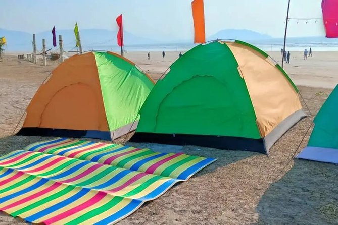 Beach Camping Experience in Alibaug