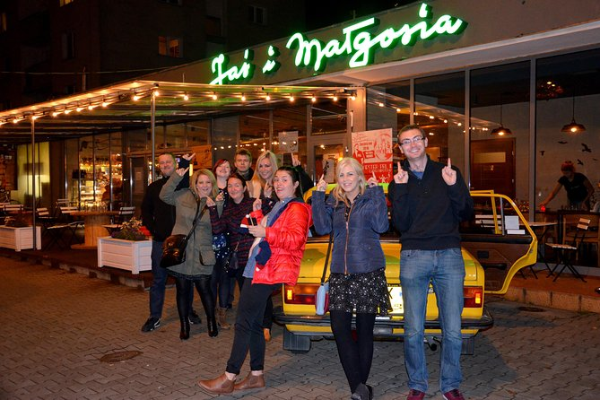 Warsaw Vodka Night Private Tour by Retro Fiat