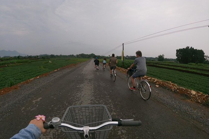 Half day bicycle trip around Hanoi city