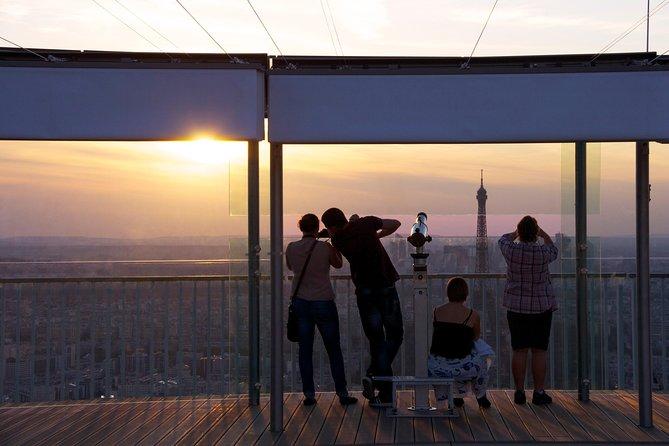 Montparnasse Tower 56th Floor Observation Deck Entry Ticket