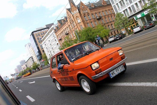 Retro Fiat Self-Drive Tour in Warsaw