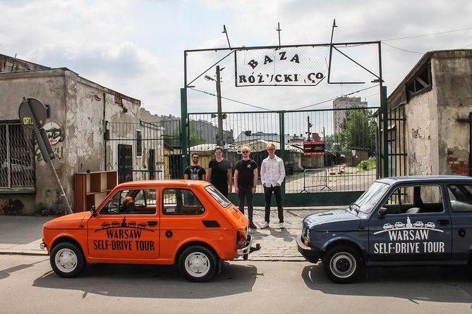 "Self-Drive Tour: Warsaw Off The Beaten Path by Retro Fiat ""Toddler"""