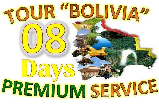 Tour Bolivia 08 Days (shared Service)