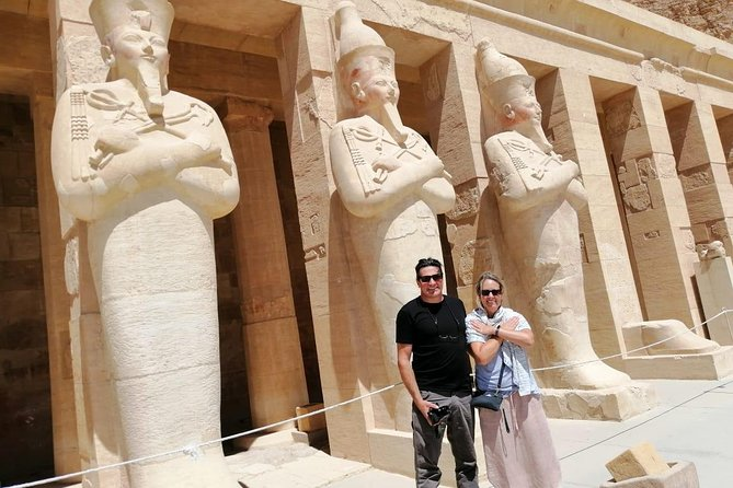 Day Tour to Valley of the Kings and Queens Hatshepsut temple WEST BANK LUXOR