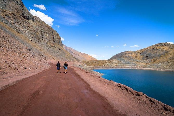 Cajon del Maipo and El Yeso Dam from Santiago