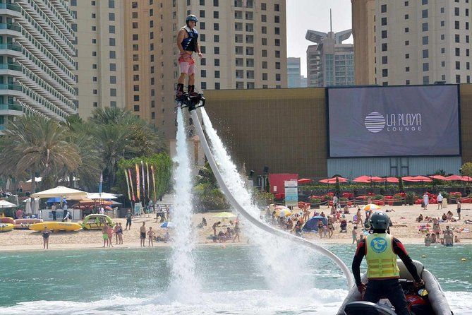Enjoy a Flyboard Adventure in Jumeirah