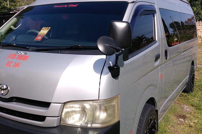 Ocho Rios Private Seven Passenger Van - Day Trip