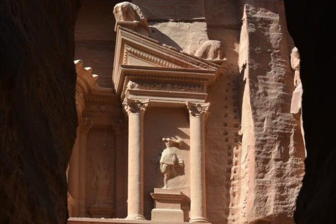 (Price per vehicle 4-Pax) Petra & Little Petra Day Trip from Amman or Airport