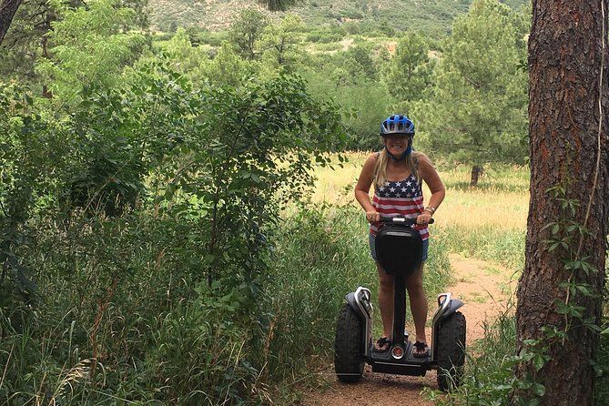 2 Hour Segway Tour - Cheyenne Cañon and Broadmoor Area