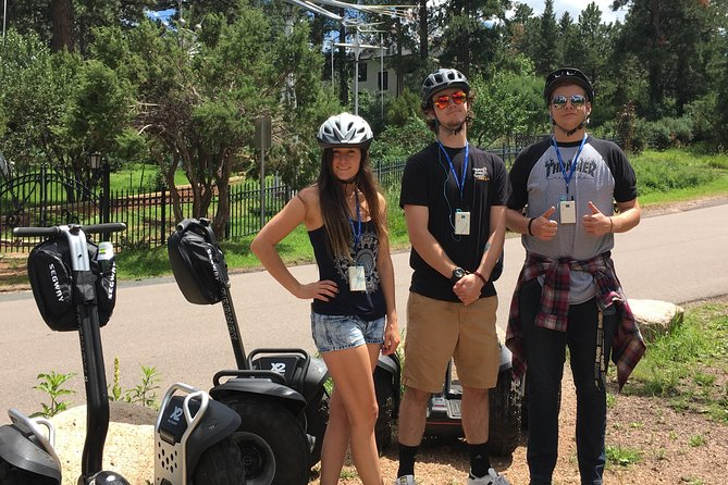 Segway Tour of Cheyenne Cañon Art, History and Nature