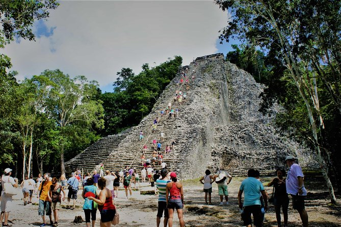 Mayan traditions: visit to Cobá and Tulum, swim in cenote and buffet lunch