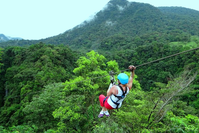 Canopy and Horseback Riding at Arenal La Fortuna Guided through Mountain Trail photo 7