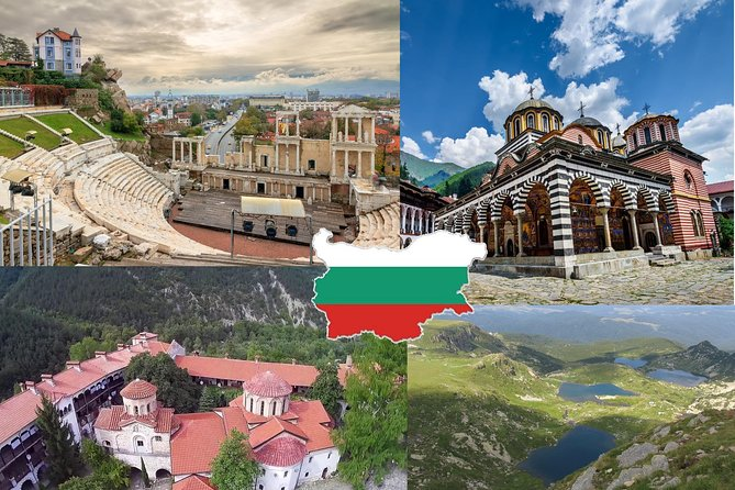 Best of Bulgaria: Plovdiv, Rila Monastery, 7 Rila lakes in 2 day tours