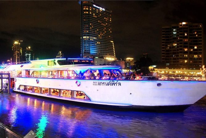Grand Pearl : Luxury Dinner Cruise from Bangkok with Transfer photo 4