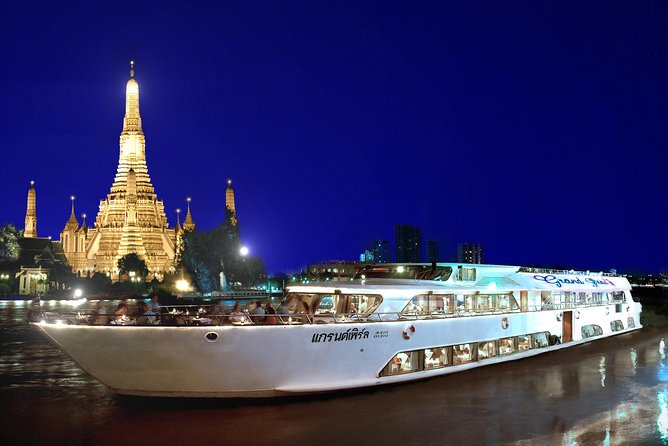Grand Pearl : Luxury Dinner Cruise from Bangkok with Transfer photo 10