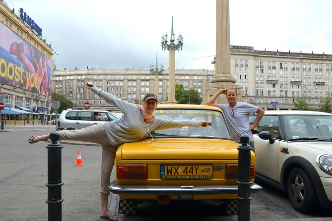 Private Tour: Warsaw's Communist History by Retro Fiat