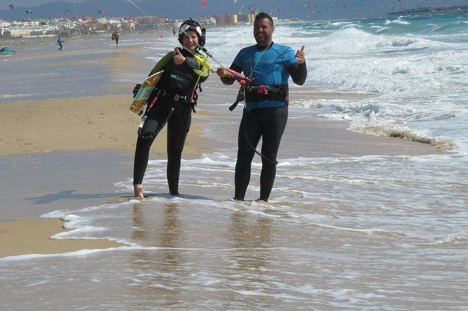 Semi-priviled kitesurf courses in Tarifa (3 hours a day)