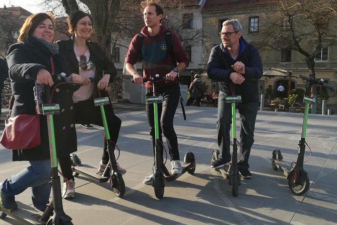 ELECTRIC KICK SCOOTER GUIDED TOUR - Ljubljana