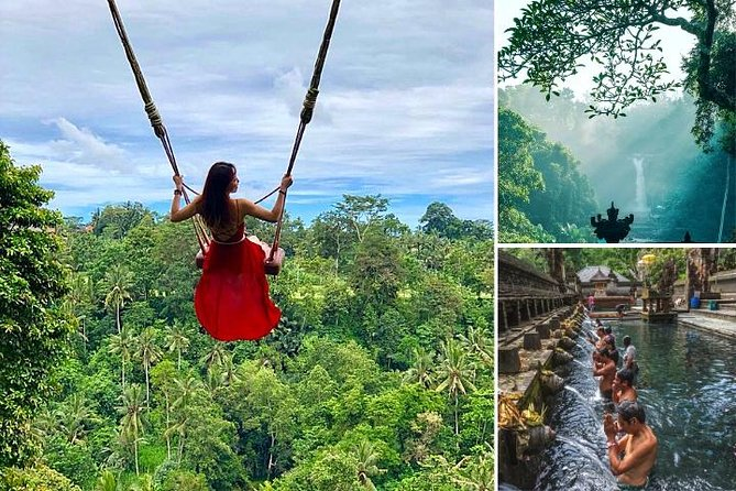 Ubud Tour - Jungle Swing - Monkey Forest - Waterfall - Water Temple - FREE Wi-Fi