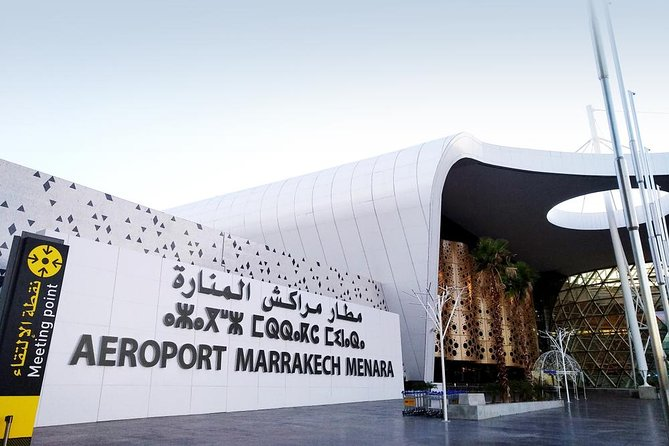 Private transfer from the center of Marrakech to Marrakech airport