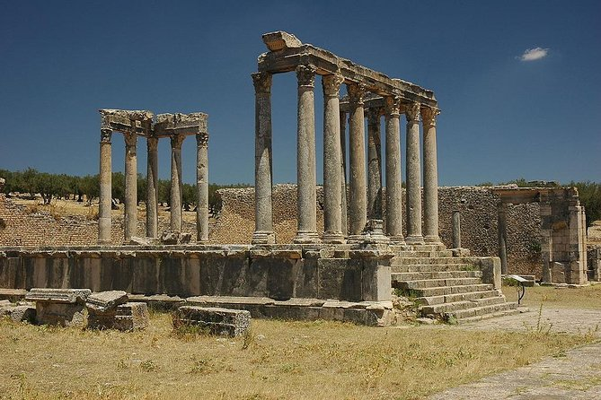 Excursion Zaghouan, Thuburbo Majus and Dougga