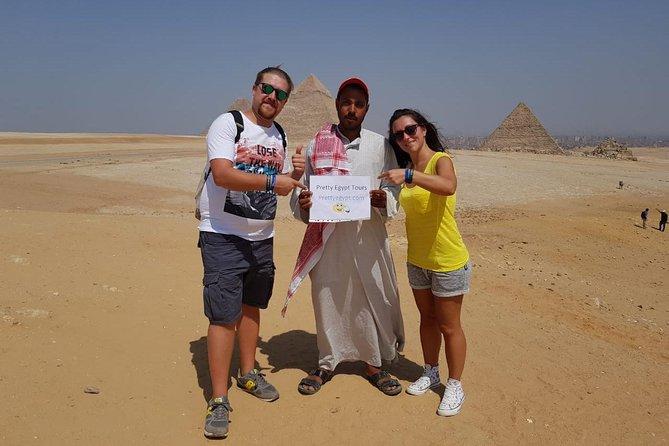 Giza Pyramids, Sphinx, Sakkara & Dahshur Private Day Tour