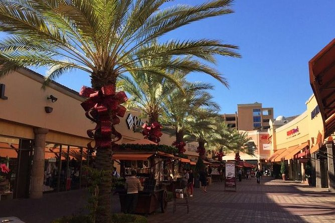 Anaheim Resort Area: Citadel Outlet Mall Private Roundtrip Transfer.