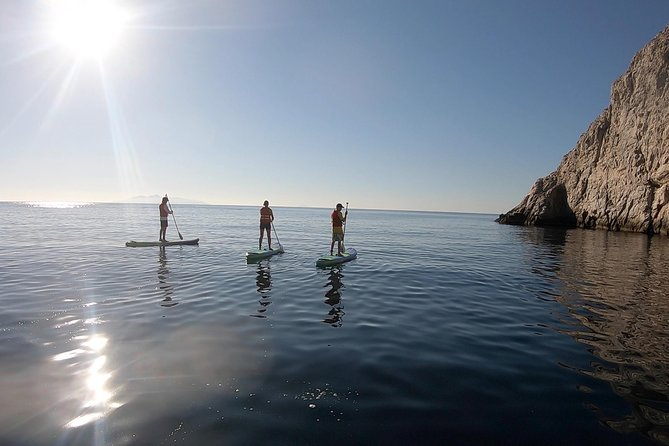 Santorini:Stand-Up Paddle and Snorkel Adventure photo 2